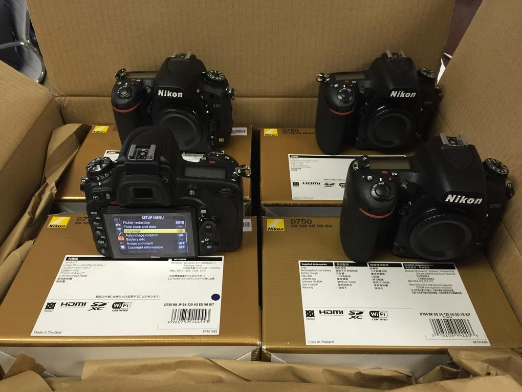 NEW CAMERA DSLR NIKON D750 KIT 18-55mm