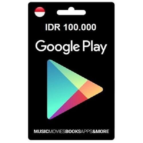 Voucher Google Play Rp. 100.000 By Wildut.