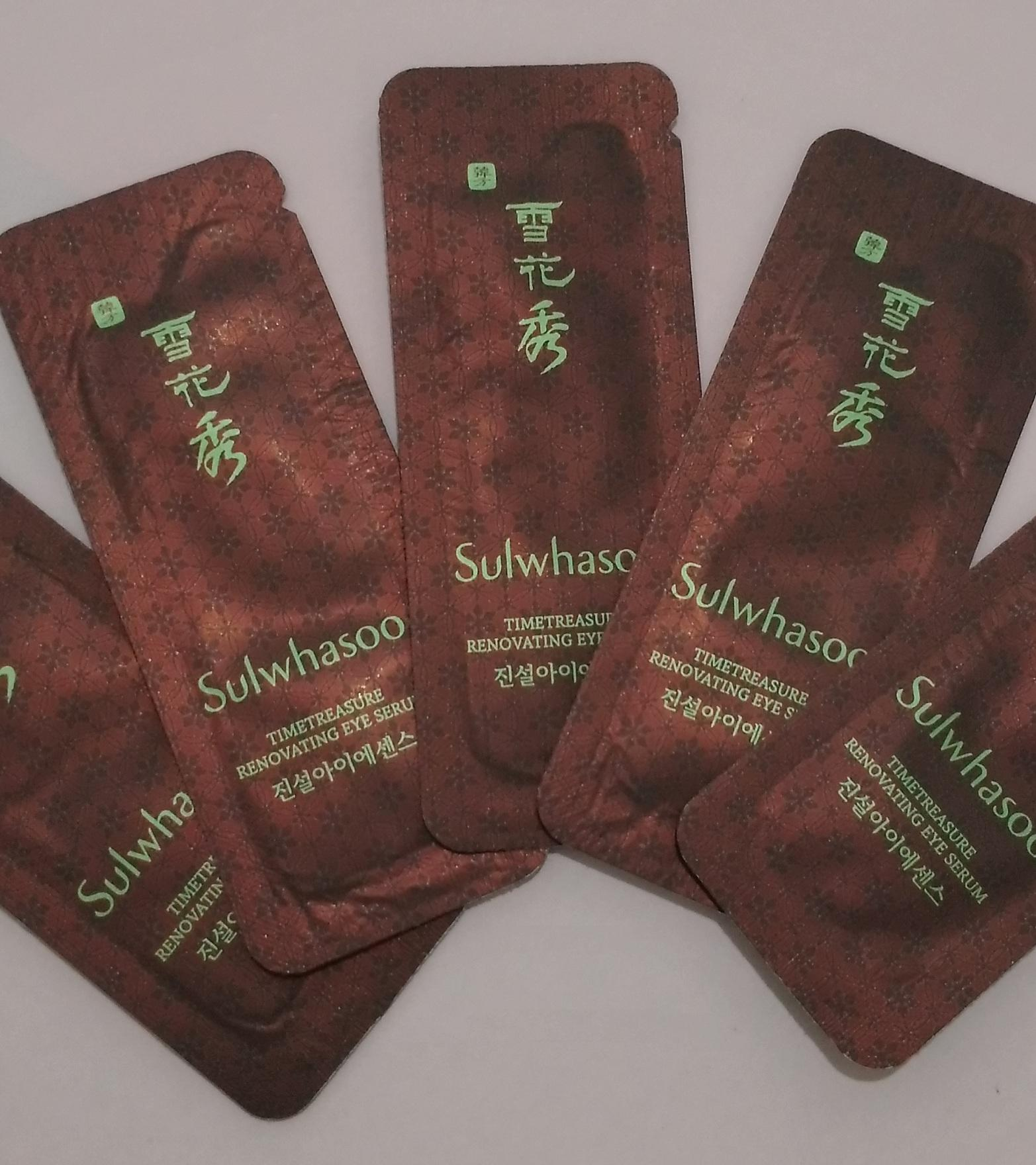 Buy Sell Cheapest Timetreasure Renovating Serum Best Quality Sulwhasoo Time Treasure Cream Ex 60ml Eye