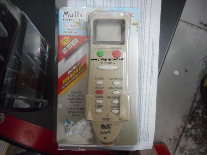 Terbaru!! Remot/Remote Ac Joker Multi/Universal Changhong - ready stock