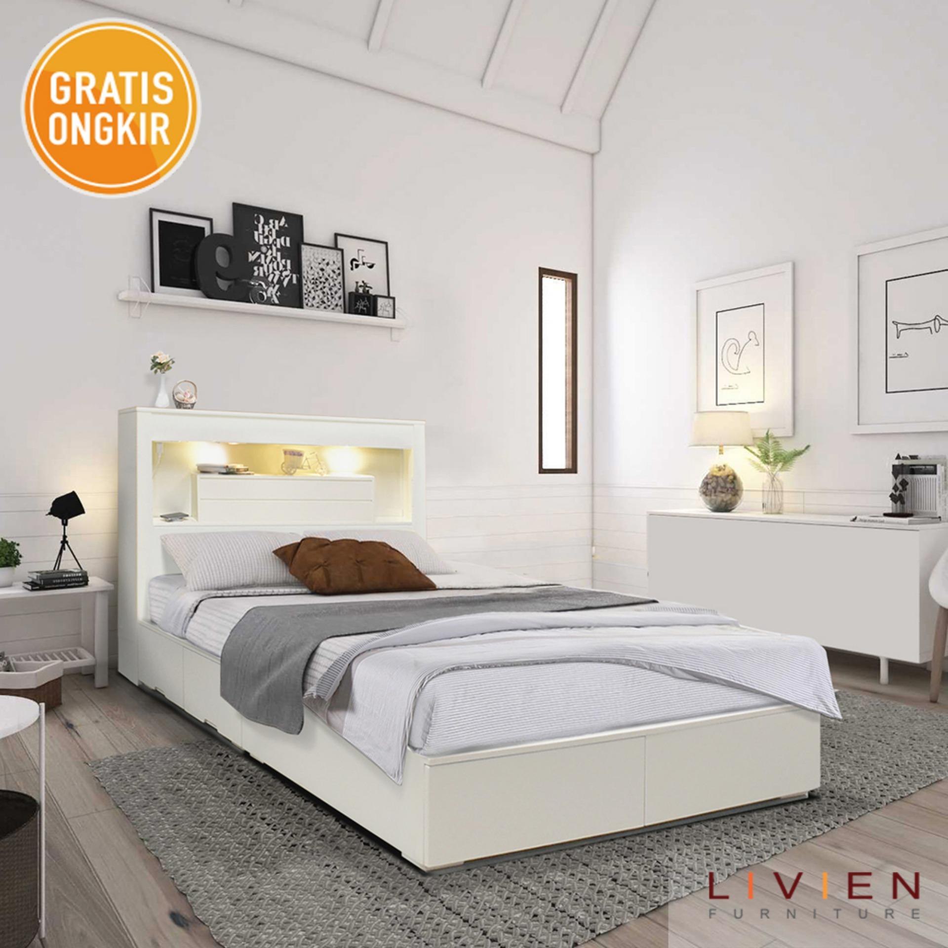 Beli Ranjang Store Marwanto606 Susun Mbb 09 Dengan Kasur Busa Livien Tempat Tidur Bed Azzora French Series Queen