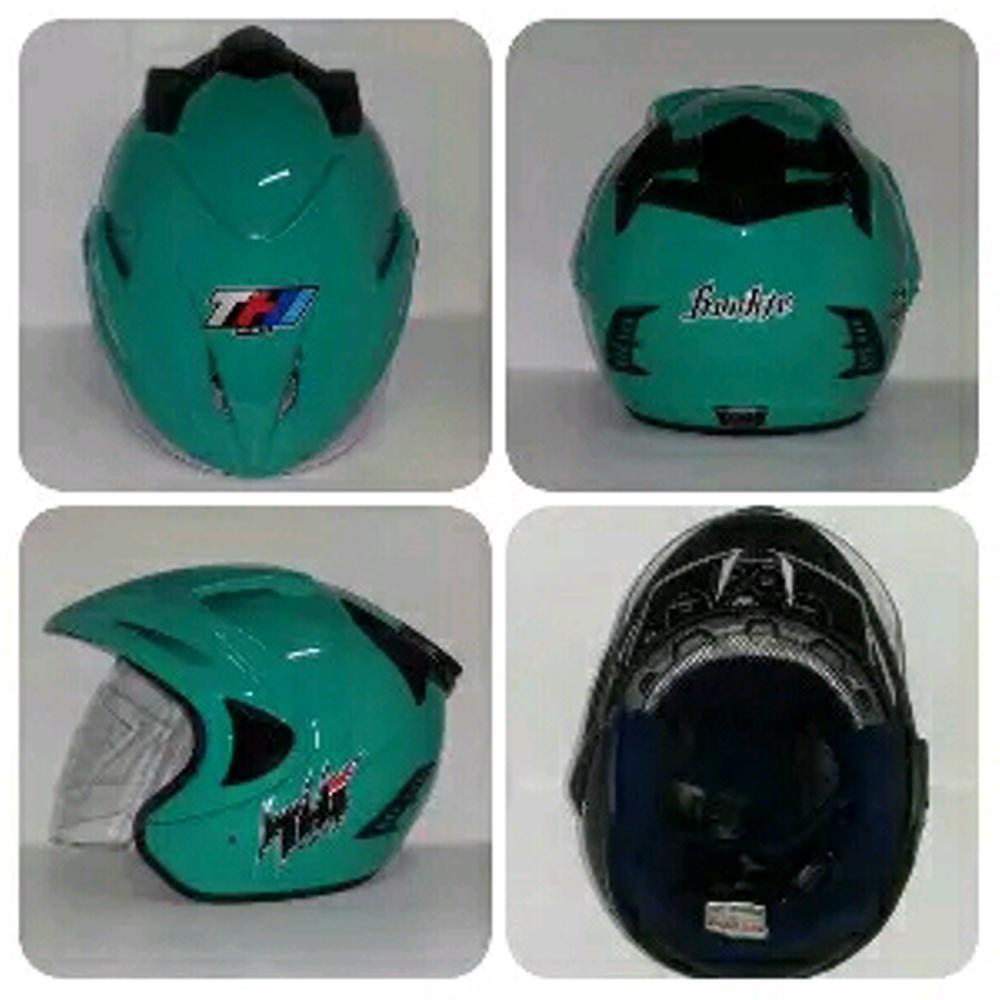 Helm SNI Murah THI Rookie Tosca  Terlaris  di lapak vale46_helmet uniequrro_