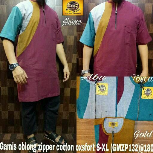 Kurta Oblong Cotton Oxford Al Amwa - tersedia Gamis Koko Sirwal Muslim Celana Baju Jubah India Saudi Pakistan India Setelan  Abaya Cadar
