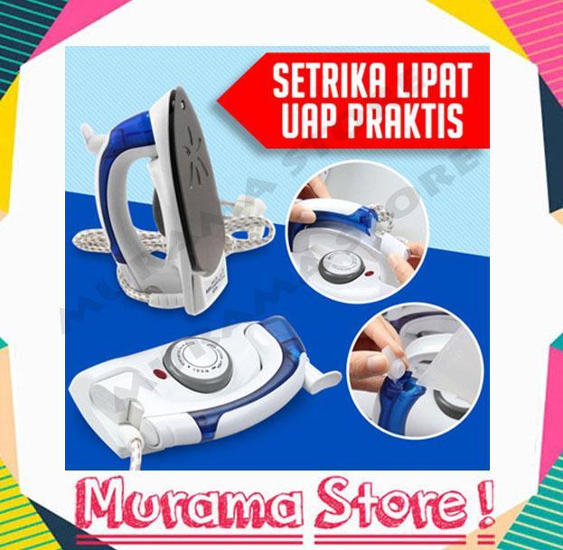 Setrika Steamer Uap Lipat Praktis Travelling Iron