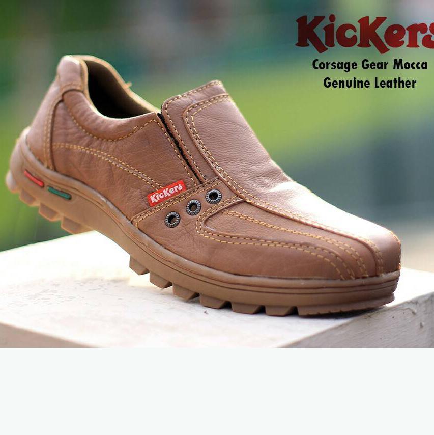 Sepatu Safety Pria kerja kantor nonformal   Sepatu Boots pendek mini Semata  Kaki Bahan Kulit Sapi d5efae496d
