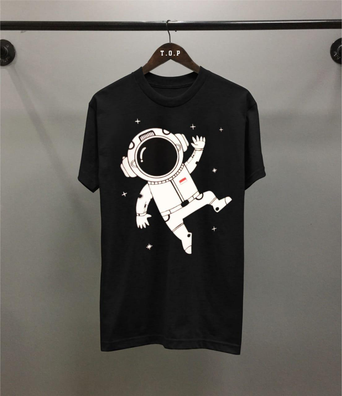 Buy Sell Cheapest Jqstar Kemeja Kasual Best Quality Product Deals Baju Fashion Panjang Distro Pria Kaos Astronot Hitam T Shir Hitamt Atasan Oblong Olahraga Unisex Shirt