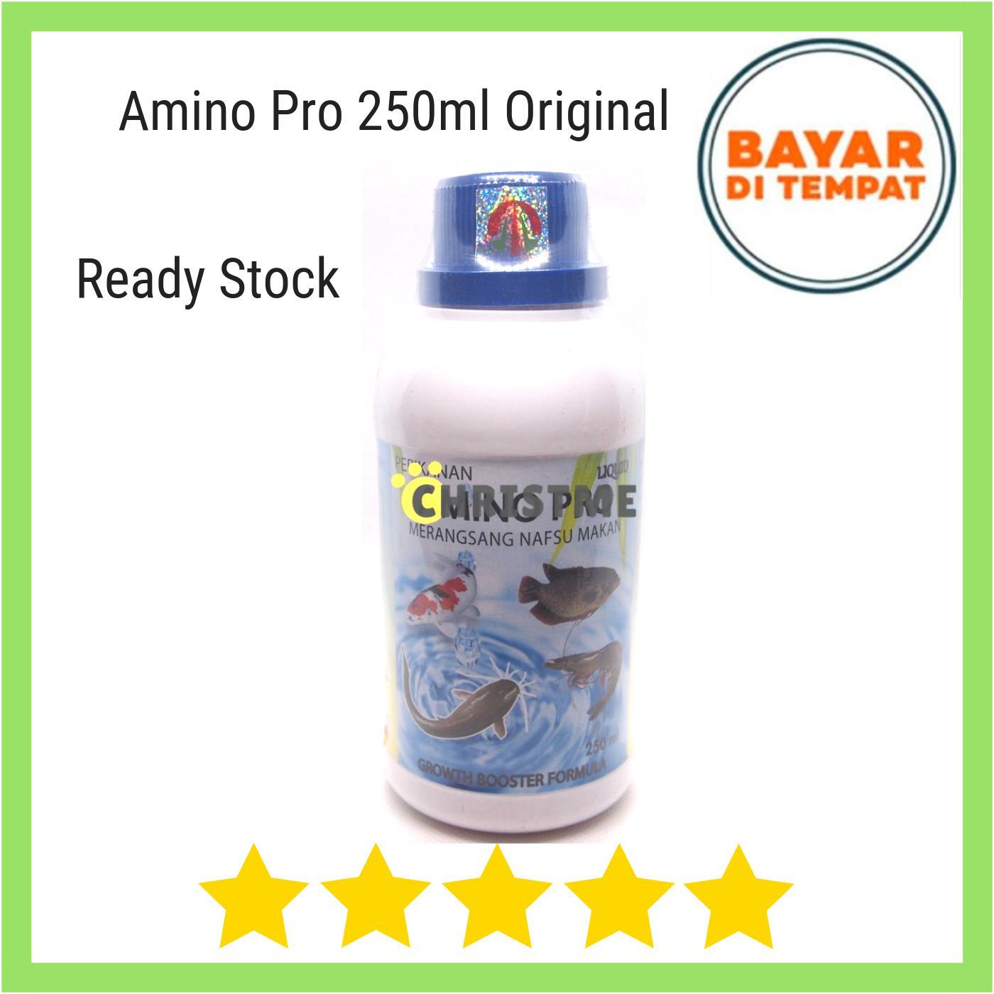 Amino Pro Liquid 250ml Merangsang Nafsu Makan Ikan Gurame Lele Patin Dll By Christ Me.