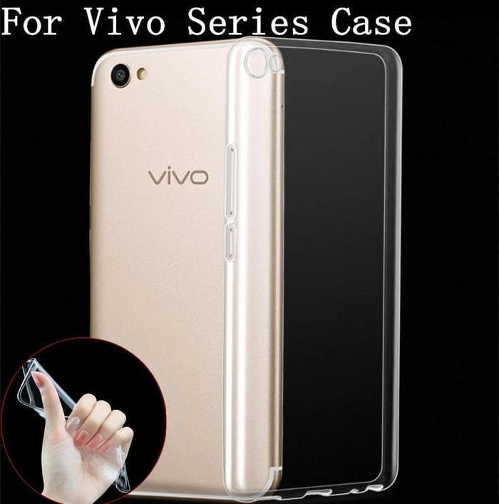 Case 360 Plus Gantungan Karakter Cewek Cantik + Free Tempered Glass Motif For Vivo Y65 (