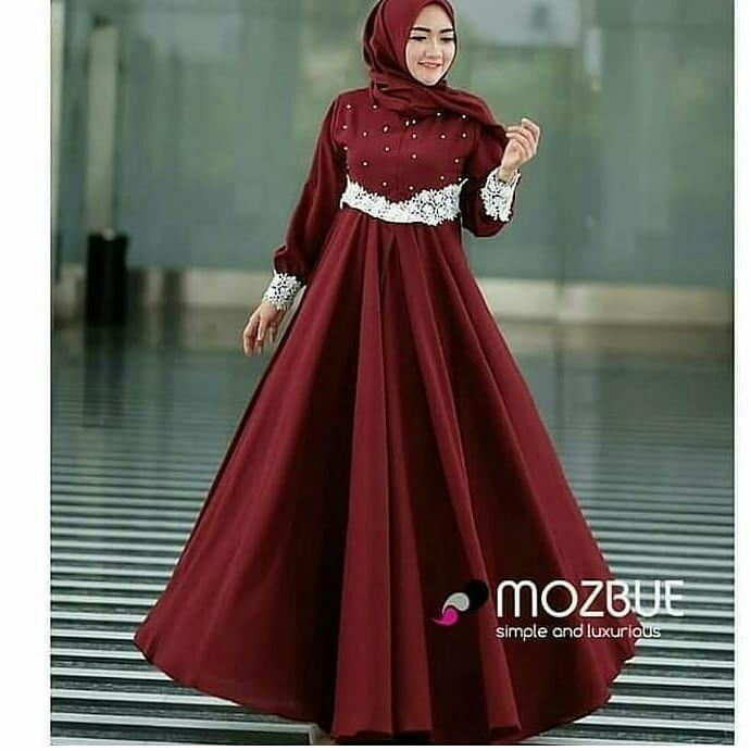Baju Gamis Pajera Dress Balotely Baju Muslim Original Long Maxy Wanita  Hijab Terbaru Pakaian Cewek Modis 9b208c6aa1