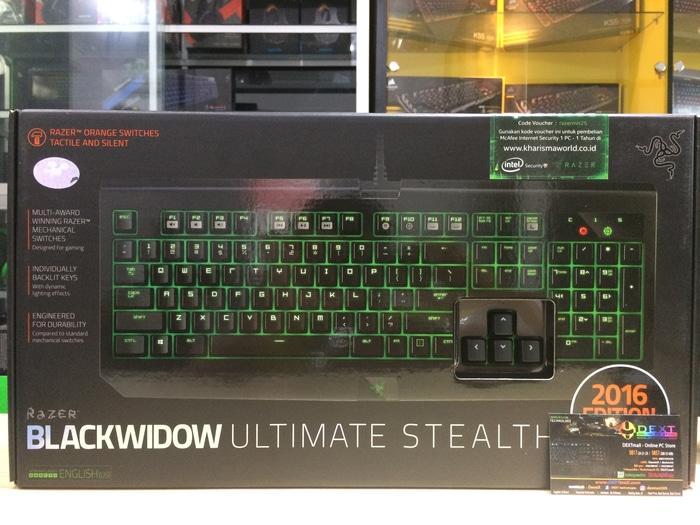 ORIGINAL Razer Blackwidow Ultimate Stealth 2016