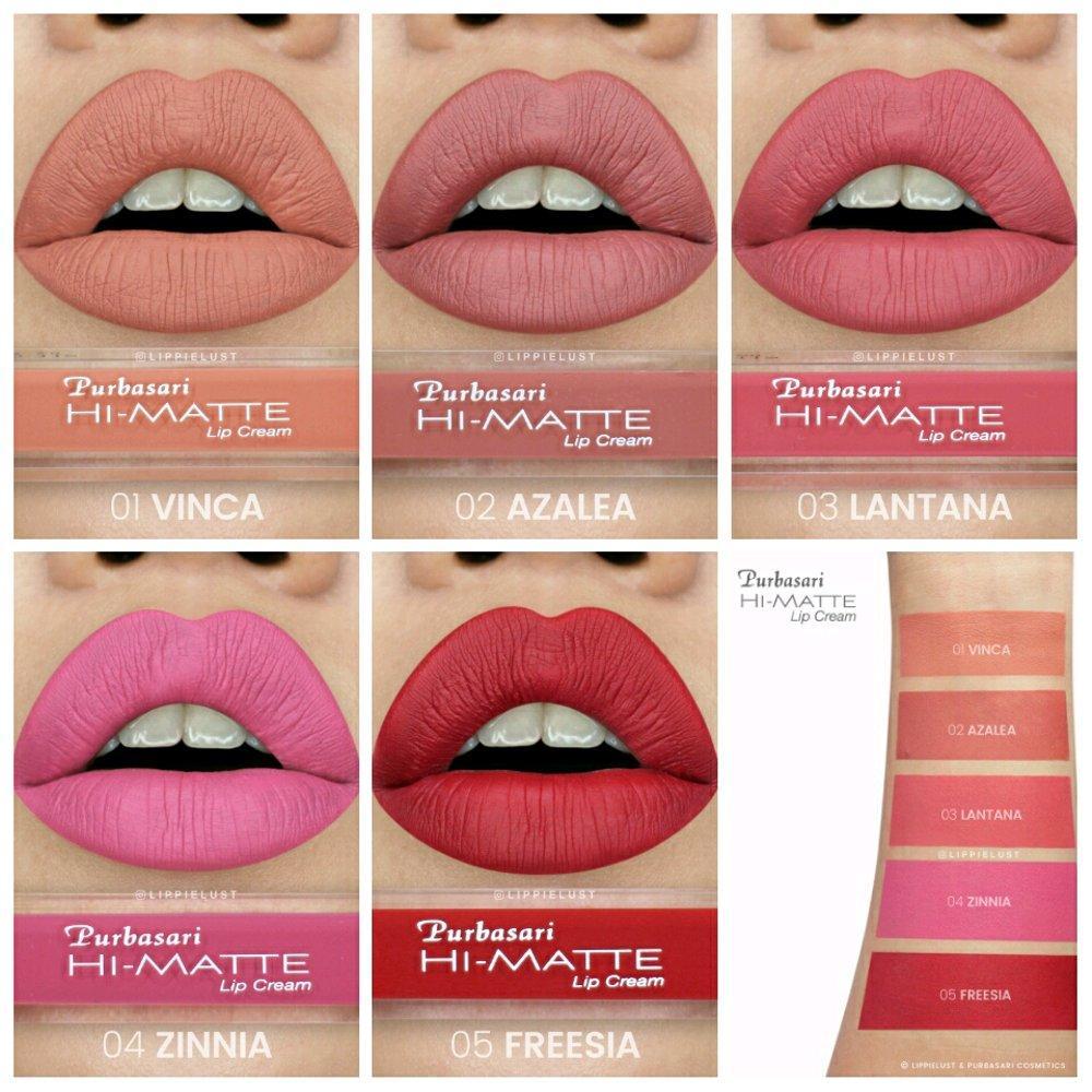 Jual Produk Purbasari Terlengkap Lipstik Matte Paling  Original