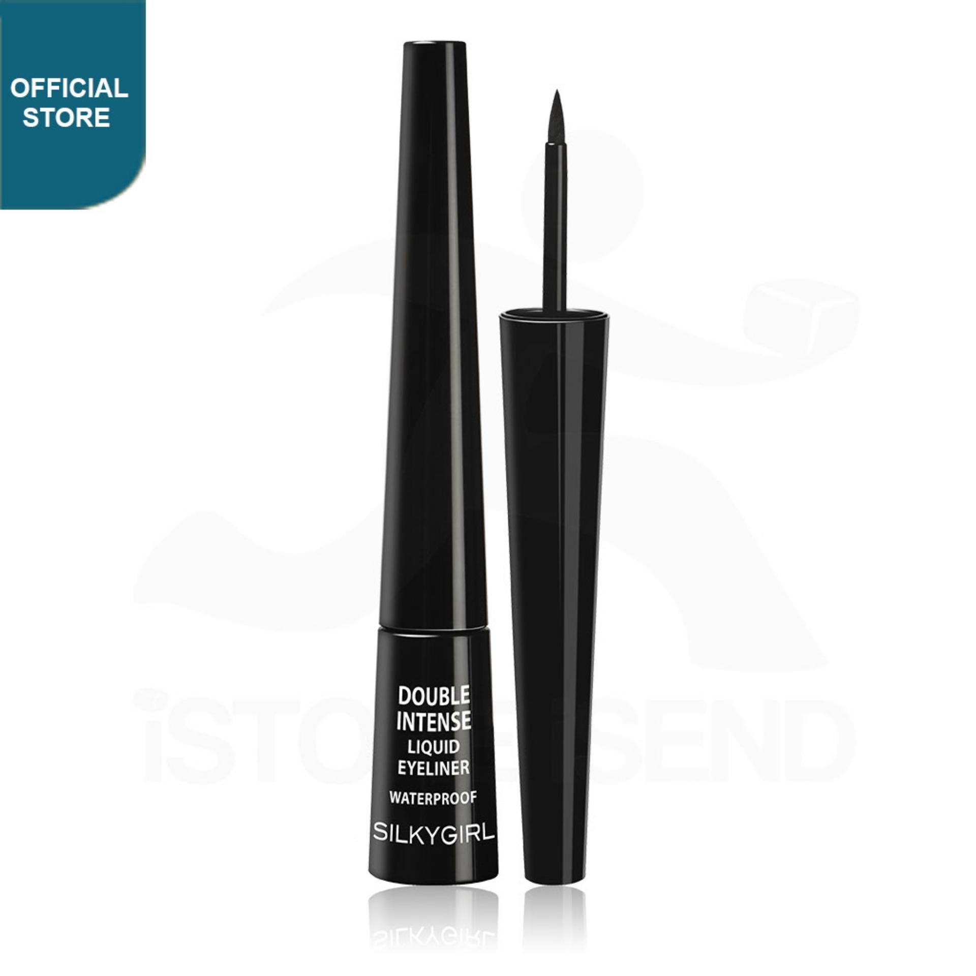 SILKYGIRL Double Intense Liquid Eyeliner 01 Blackest Black (GE0220-01)