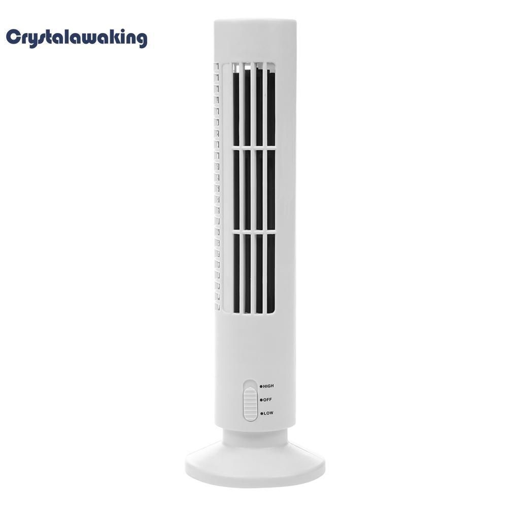 Usb Vertikal Kipas Tanpa Bilah Penyejuk Udara Mini Fan Meja Menara Pendingin Fan By Crystalawaking