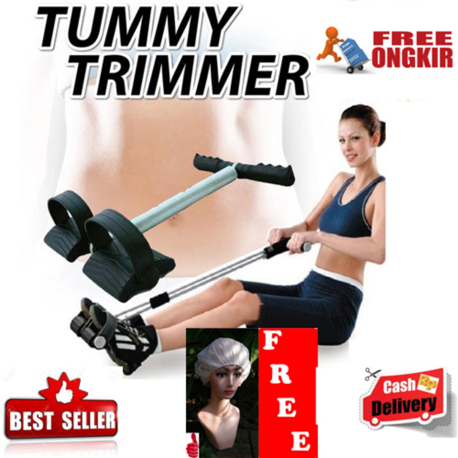 HOKI COD - QuincyLabel Tummy Trimmer Trimer Alat Olahraga Pembakar Lemak Perut - Pelangsing Perut -