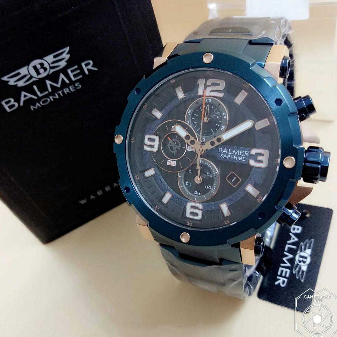 Jam tangan pria Balmer Bl 7987 original