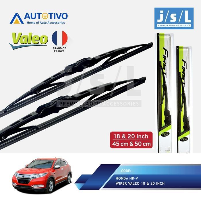 Honda HRV Wiper Mobil Valeo (2 Pcs Kiri Kanan)