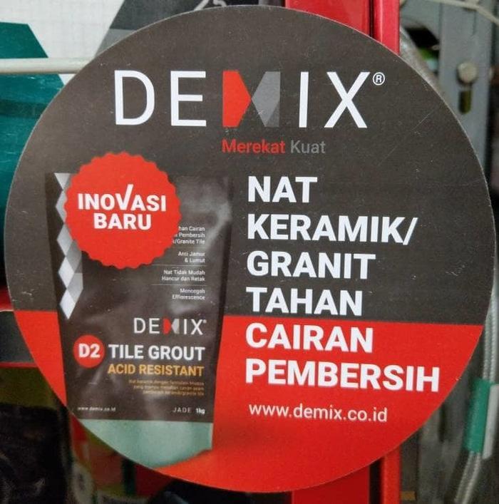 Demix D2 Semen Pengisi Nat Keramik Granit Tahan Cairan Pembersih - ready