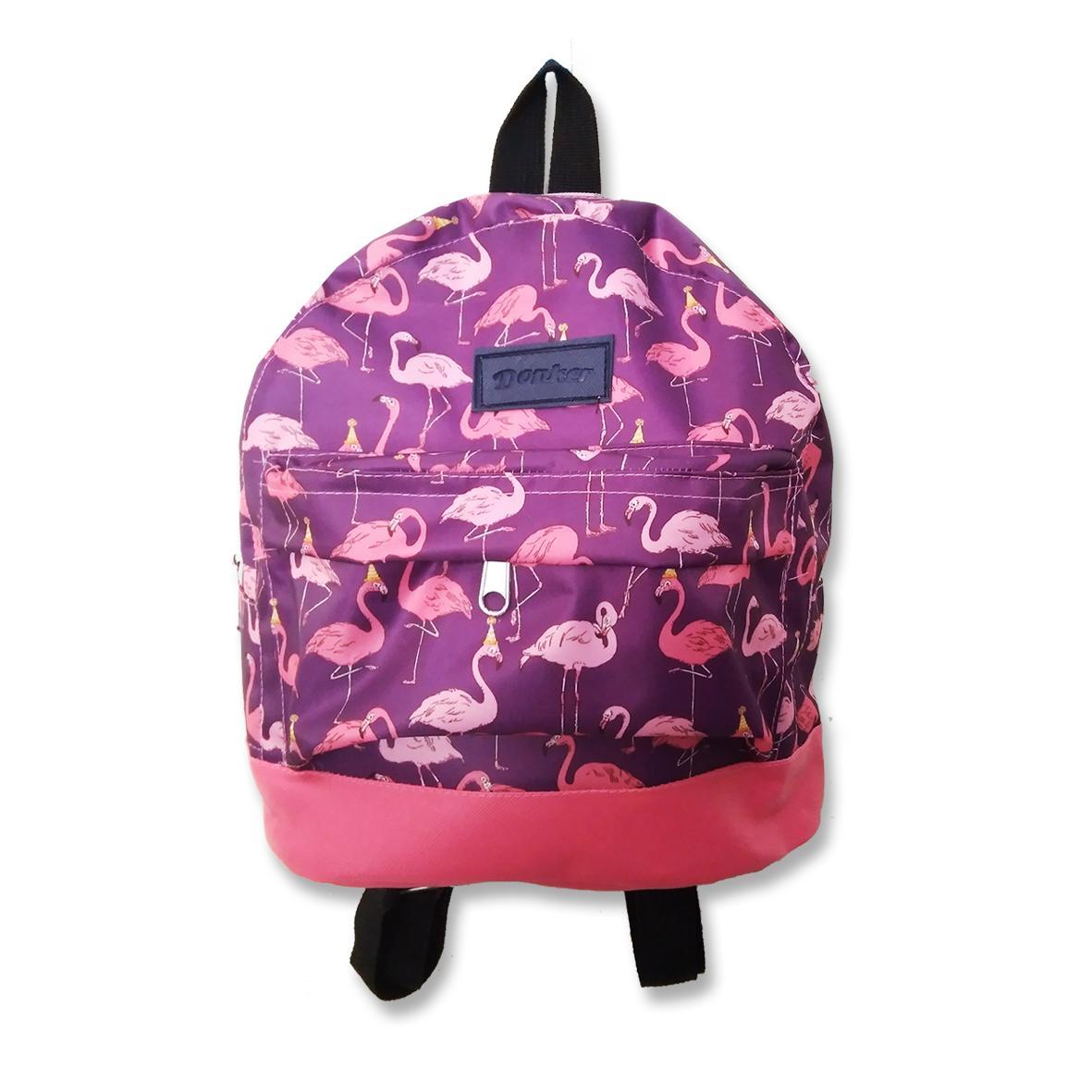 Donker Waterproof Mini Backpack Flamingo Tas Ransel Anak Murah