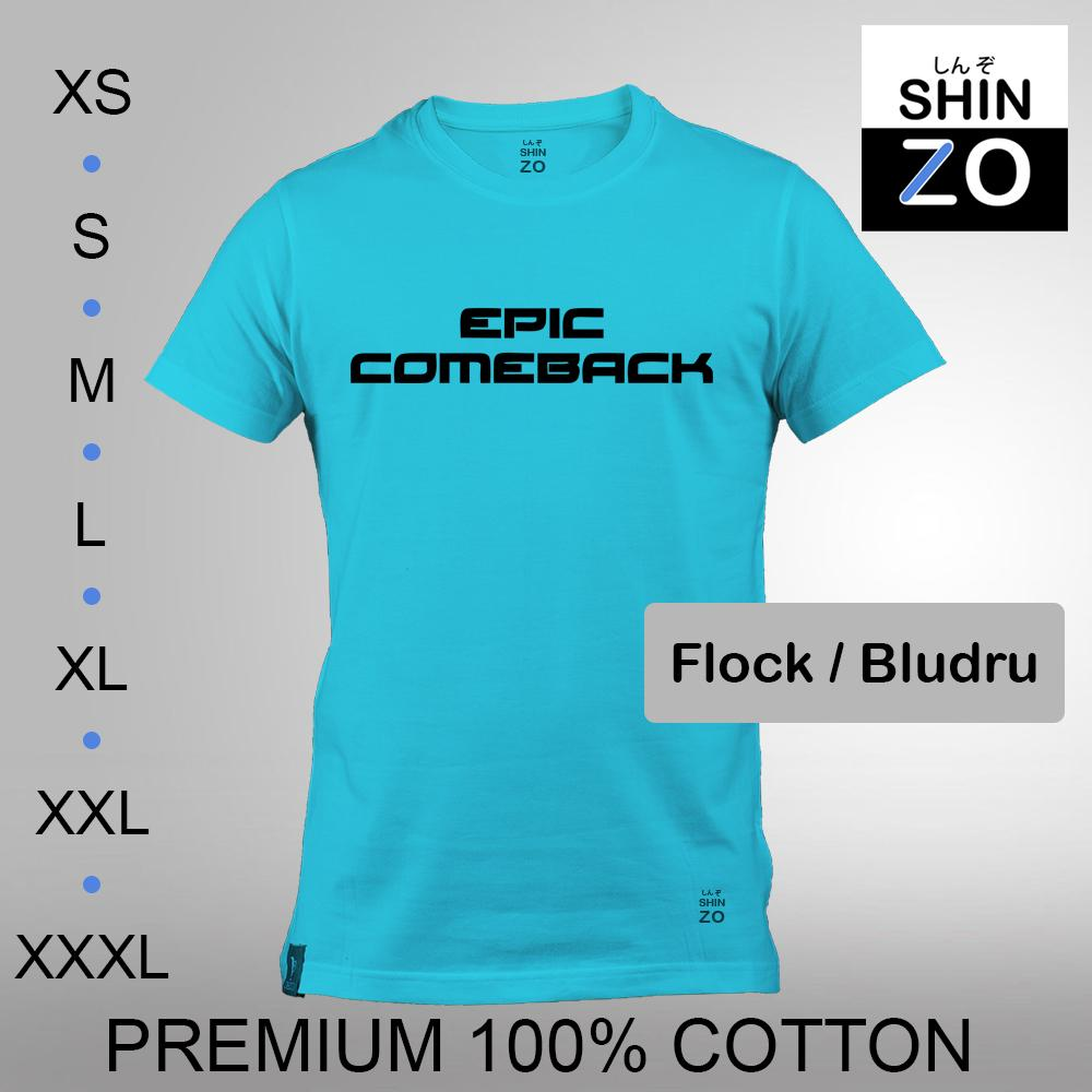 Shinzo Design - Kaos Oblong Distro T Shirt Tee Casual Fashion Atasan Cloth Anime Custom Premium
