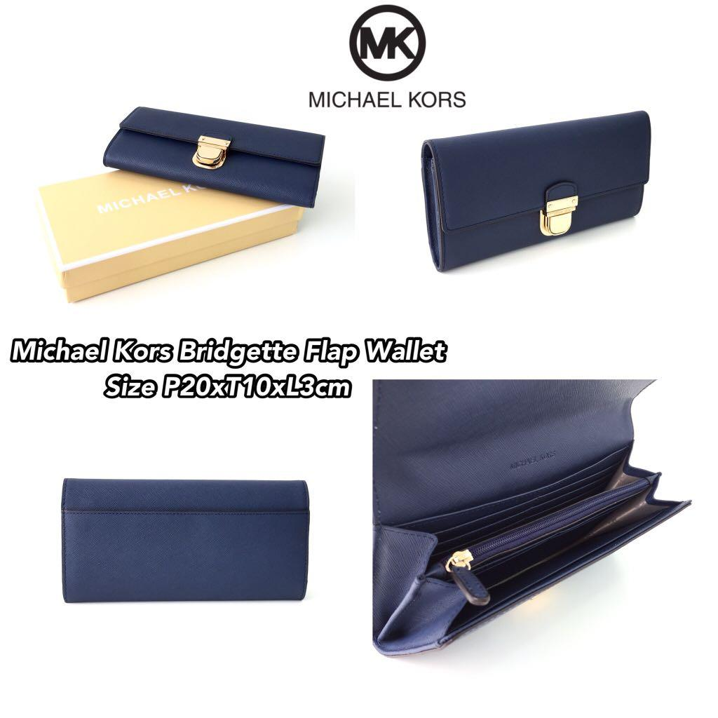Michael Kors Bridgette Flap Wallet (2)
