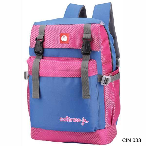 Catenzo Junior Tas Sekolah Anak Perempuan Pink Kombinasi - CIN 033