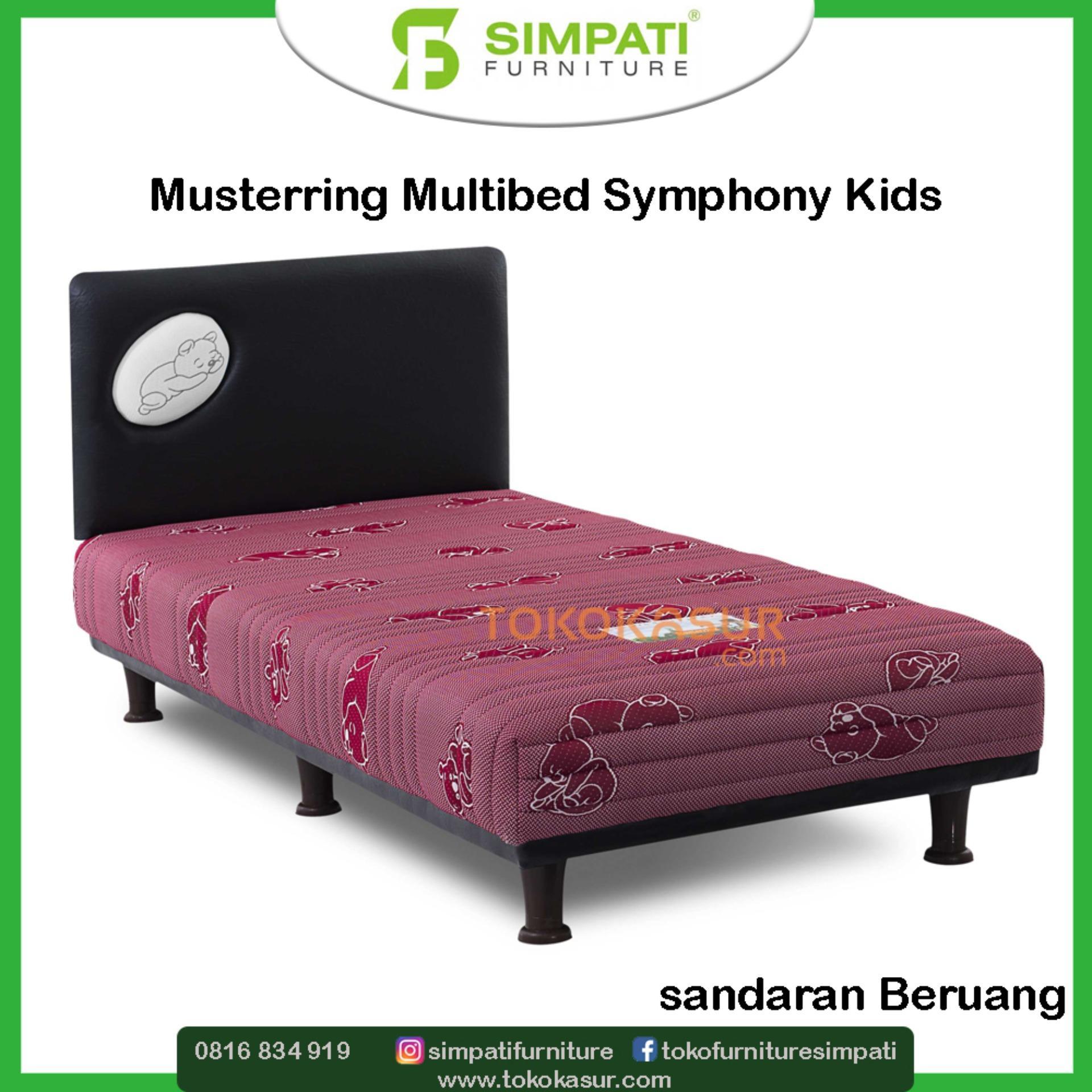 Multibed Musterring Symphony Kids 120x200 Komplit Set Beruang