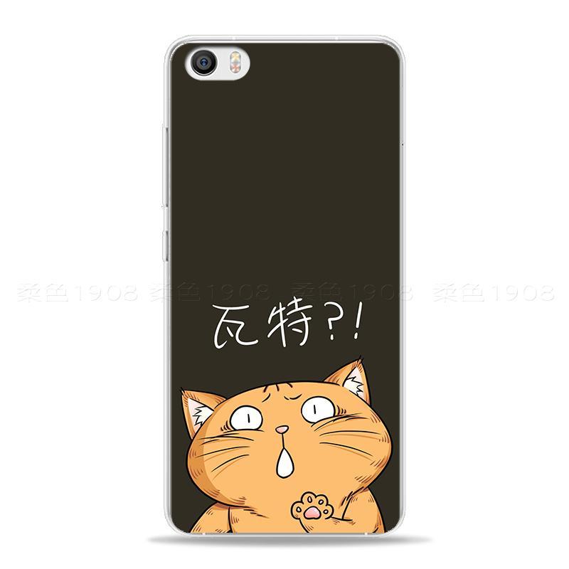 Plus Casing HP Karakter Xiaomi Soft Asli