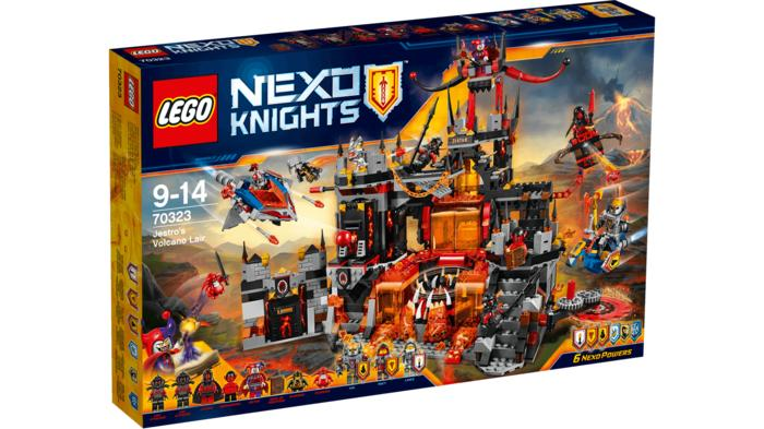 BEST SELLER!!! LEGO-70323-nexo-knight  Jestro's Volcano Lair - NNC67K