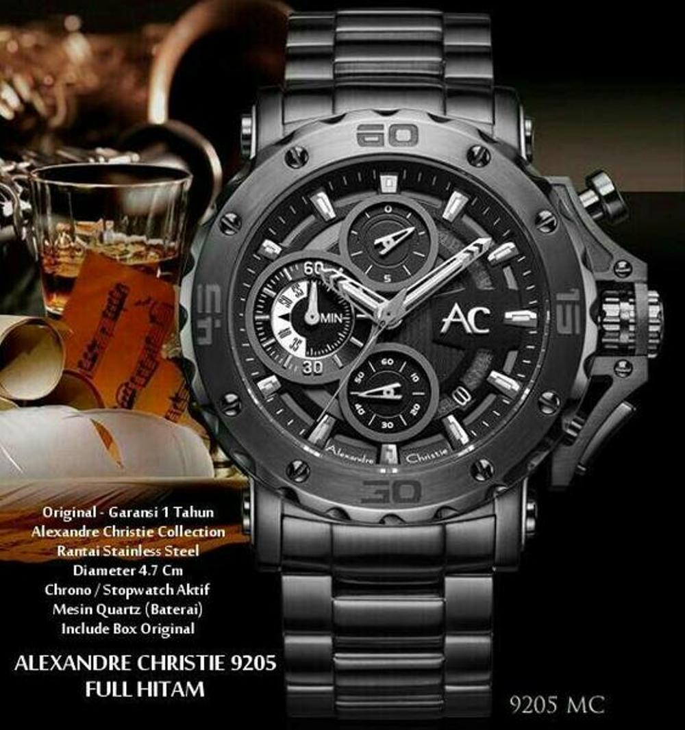 Ac Collection 9205mcbtbba Jam Tangan Pria New Best Buy Indonesia Alexandre Christie Ac6195mc Silver Black 9205 Full Mmbkl