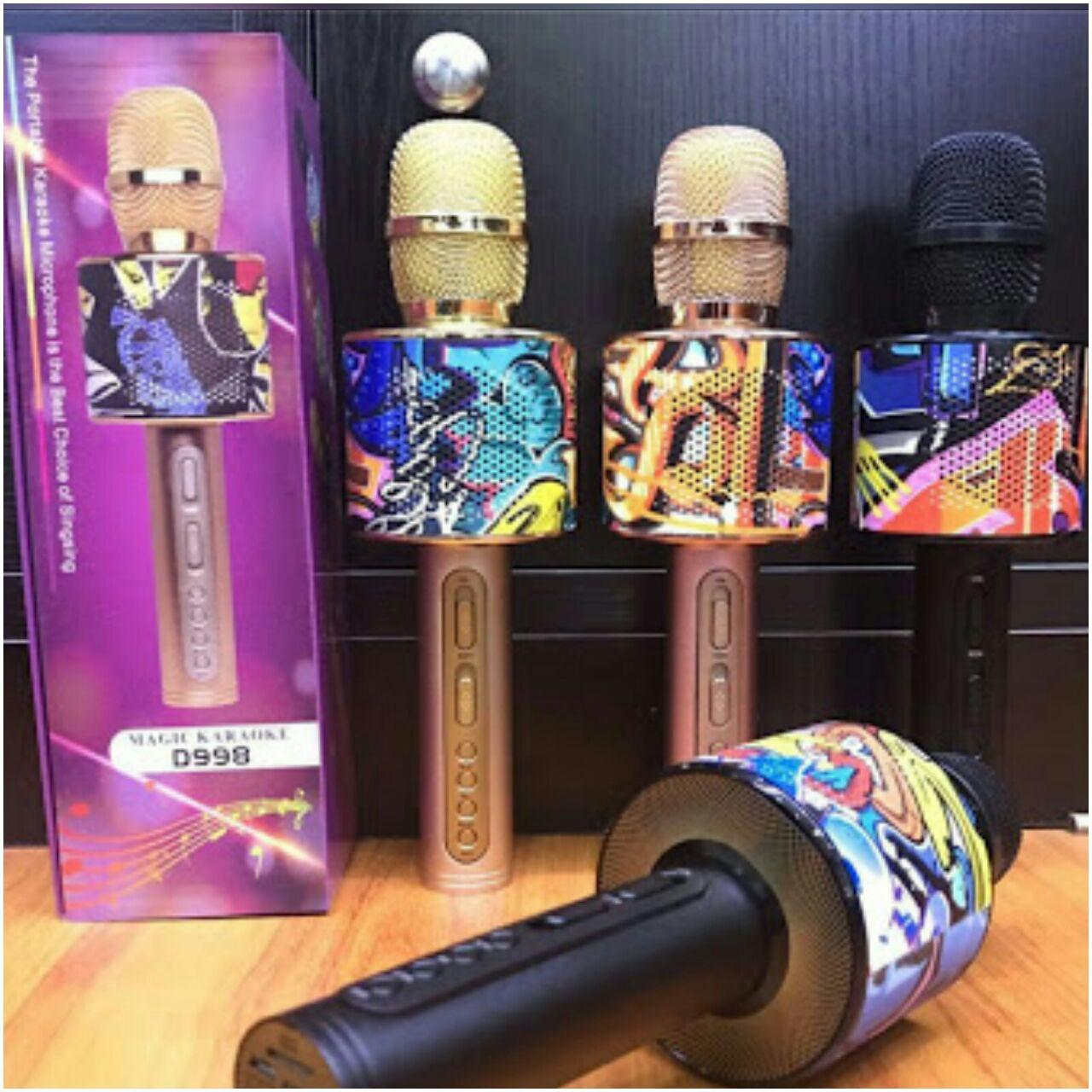 Buy Sell Cheapest Mic Wster Original Best Quality Product Deals Bluetooth Karaoke Smule Ws 858 Wireless Microphon D998 Random Colour