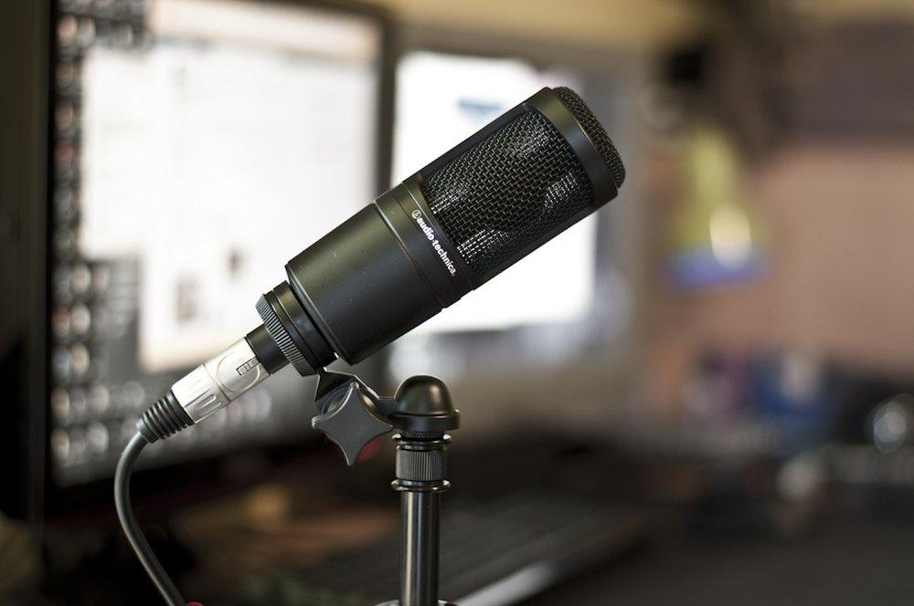 Mic Condenser recording Audio Technica AT 2020 di Bandung
