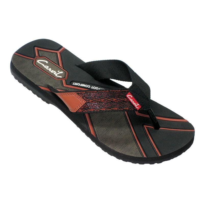 CARVIL SANDAL PRIA AWALLU BLACK BROWN