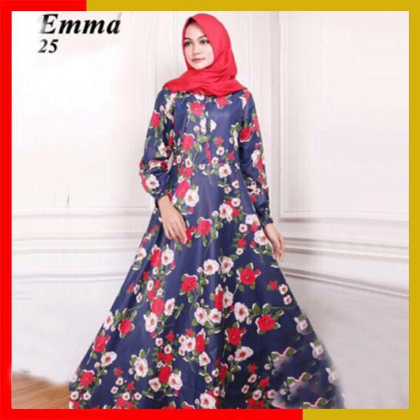 Gamis Syari Busana Muslim Maxi Emma E25