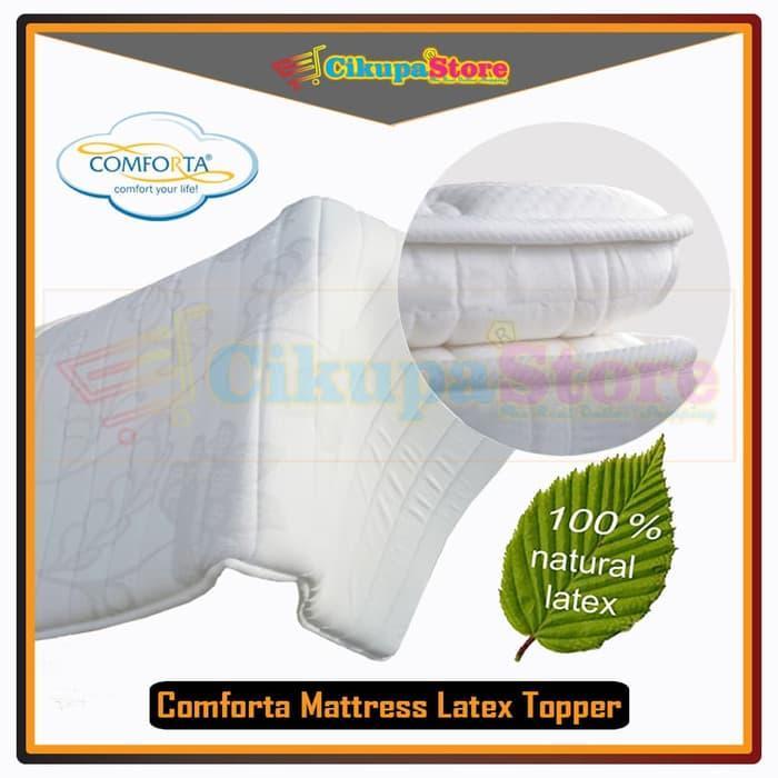ORIGINAL !! Latex Topper Comforta Tebal 4 cm (90x200) | Mattress