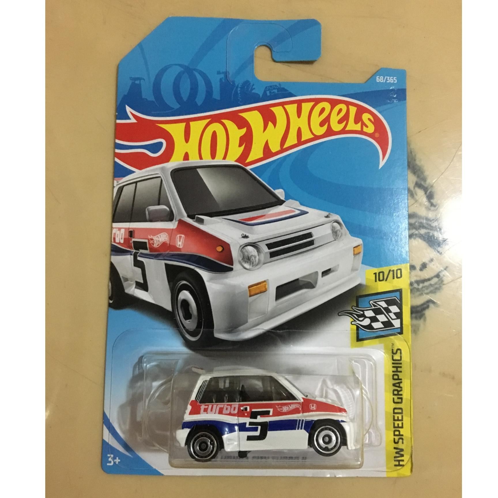 Buy Sell Cheapest Hot Wheels A Best Quality Product Deals Hotwheels 15 Land Rover Defender Double Cab Hijau 85 Honda City Turbo 2 White Hw Speed Graphics 2018