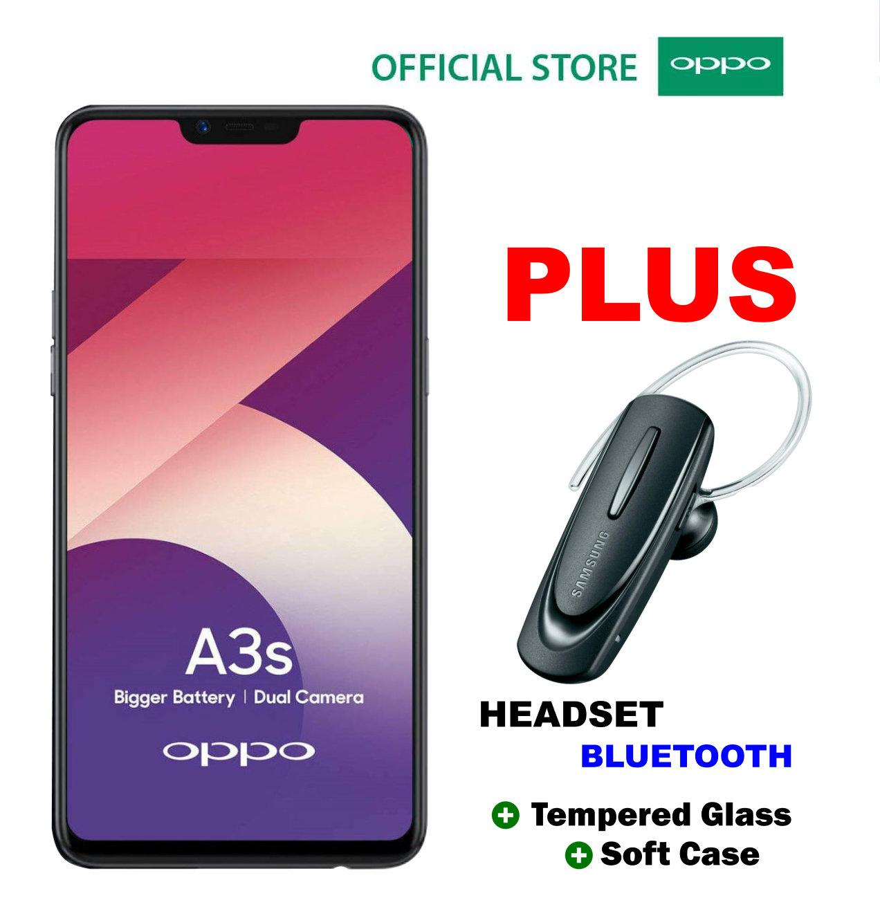 OPPO A3S 2/16GB - Plus Perlengkapan Sholat Wanita