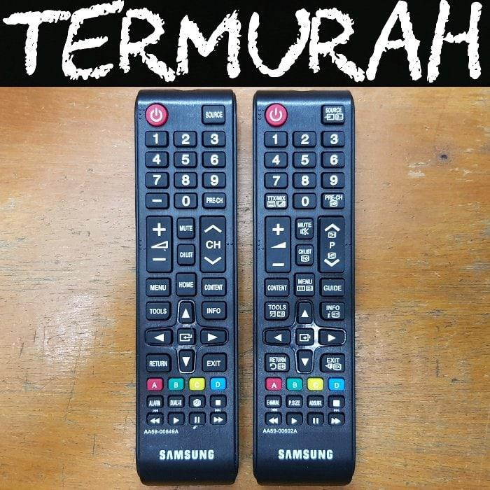 Samsung Remote/Remot TV LCD LED - Hitam