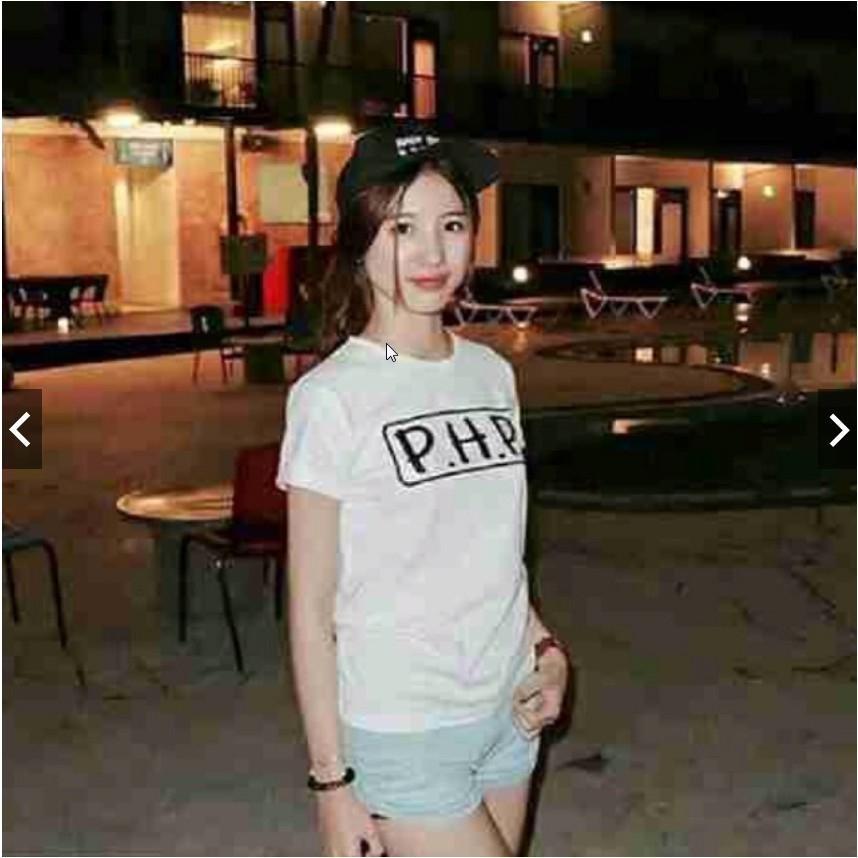 Hazelfashion T-shirt PHP - WHITE