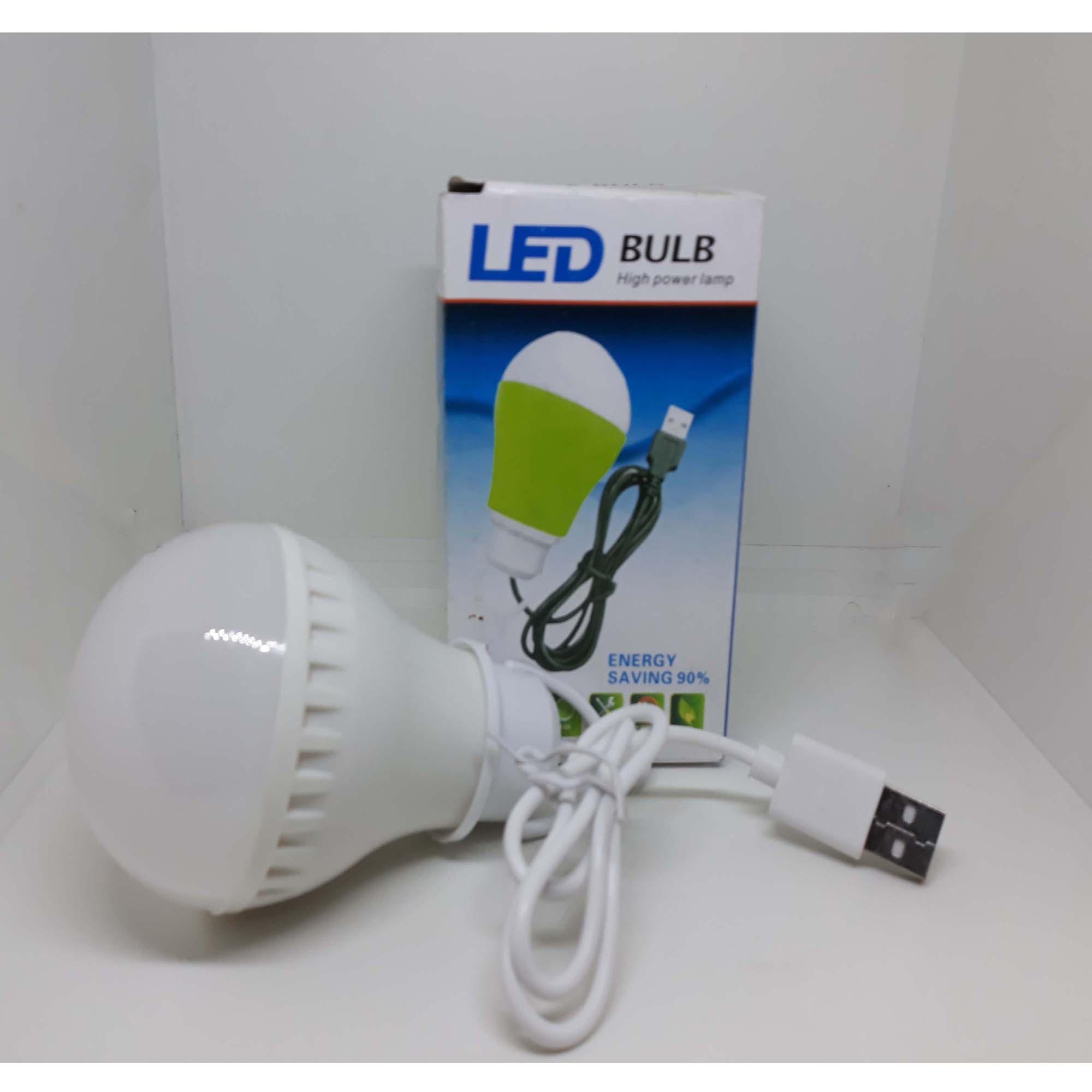 Led Bohlam Lampu Usb 5 Watt 1 Pcs Warna Random Daftar Harga Buy Get Free Emergency 7 Kabel Meter