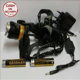Pencari Harga Kado Unik-- Senter Kepala High Power Headlamp T6 / Senter Kepala Zoom