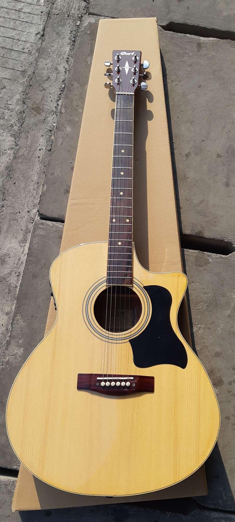Gitar Akustik Elektrik JTS Cort Custom