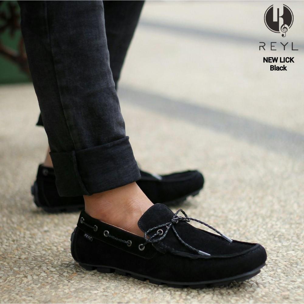 sepatu loafers pria REYL original sepatu slip on casual pria terbaru