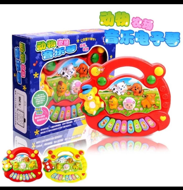 Mainan Bayi Piano Animal Farm Mainan Edukasi