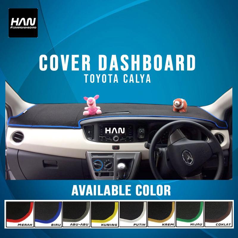 Han Cover Dashboard Calya / Aksesoris Variasi Interior Dasboard Mobil / Alas Karpet Tutup Taplak Pelindung Dasboar Toyota
