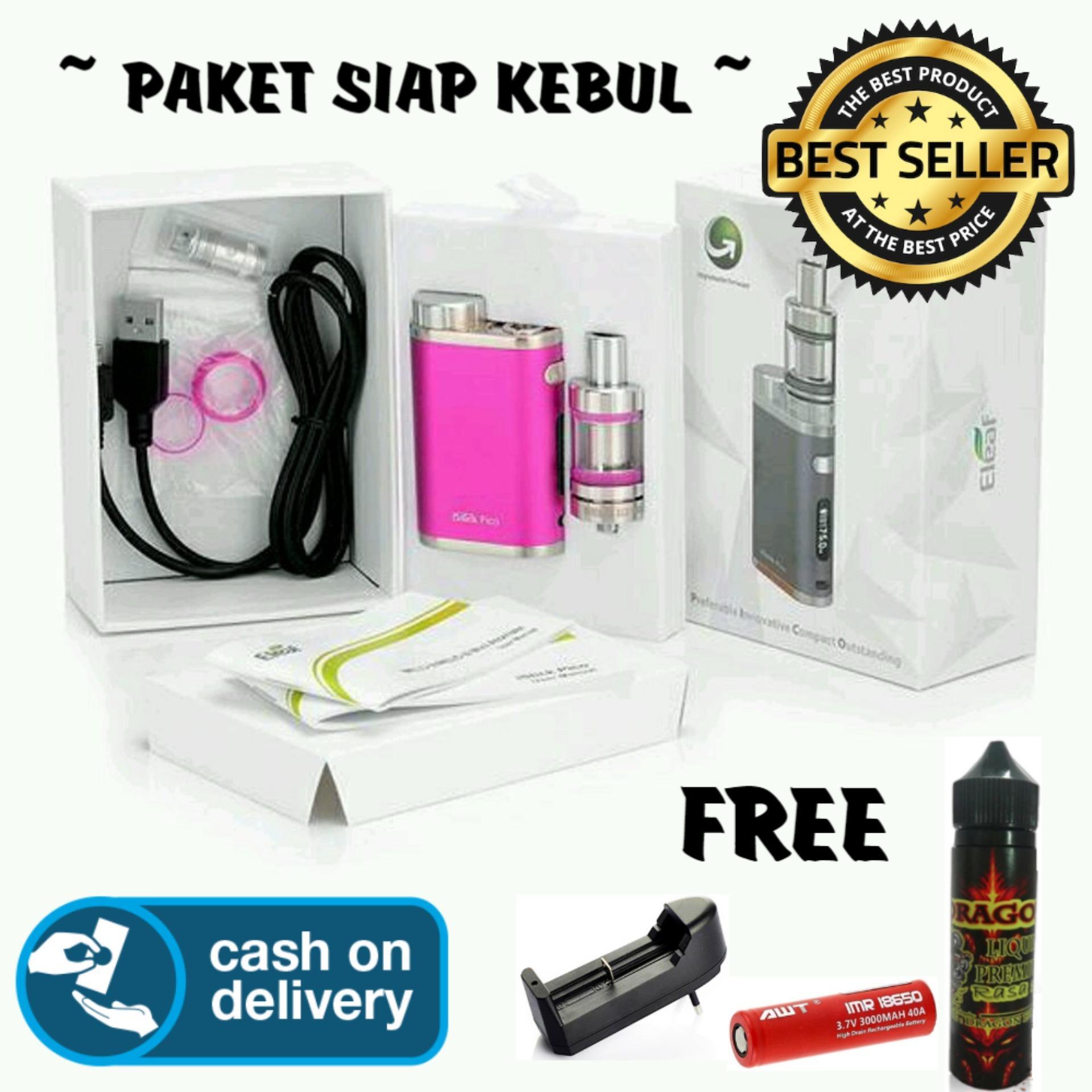 Kangertech Subox Mini Starter Kit Mod Vaporizer Include Battery Paket Ngebul Komplit Istik Fico 75w Vape Rokok Elektrik Jual