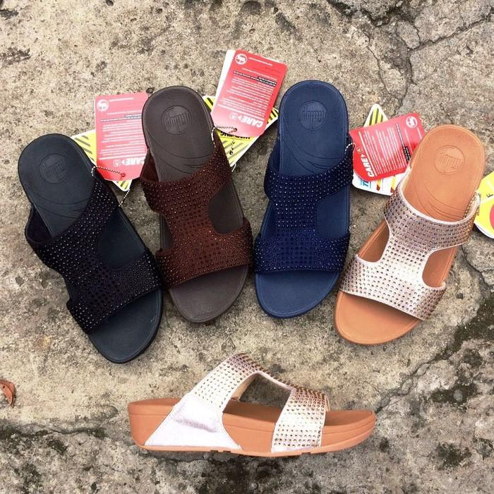 Promo Fitflop / Sandal Fitflop / Sendal Fitflop / Fitflop Bosch Crystal Gratis Ongkir