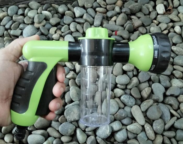 promo Water Gun Spray Terbaik untuk Cuci Mobil Motor 8 Mode dgn Tempat Sabun original