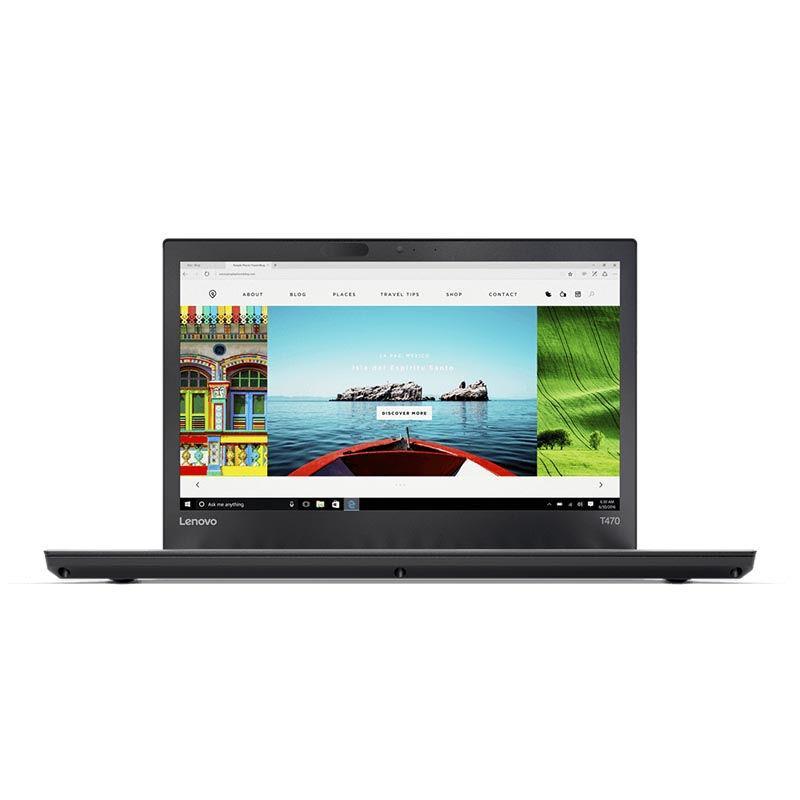 THINKPAD T470-0ID FHD/Intel Core i7-7500U/16GB/512GB SSD/Intel HD Graphics/WIN 10 Pro - Black