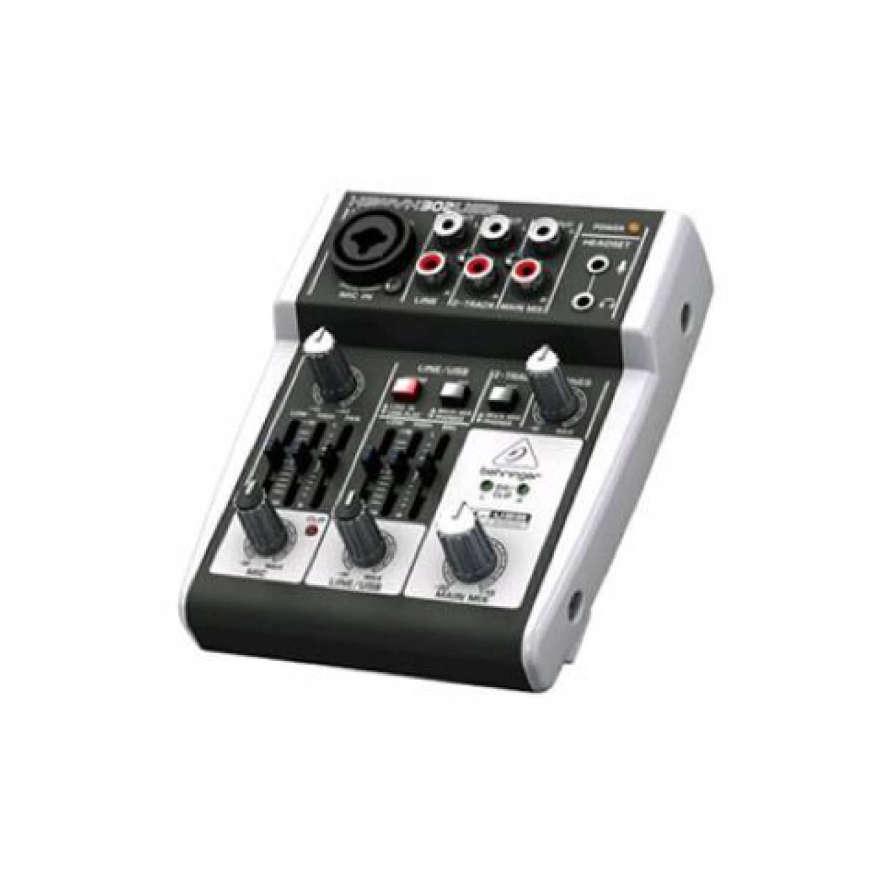 Murah !!! Mixer Behringer XENYX 302 USB ( 4 channel )