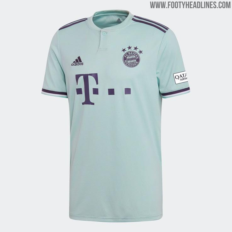 FSTORE Jersey Bola Bayern munchen away musim 2018/19 new